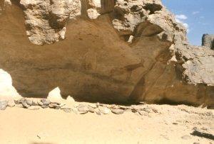 Rock shelter Tassili