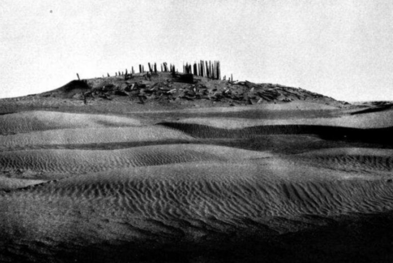 "Vista del ""Cimitero 5"" (da Bergman, 1939, tav. IIIa)"