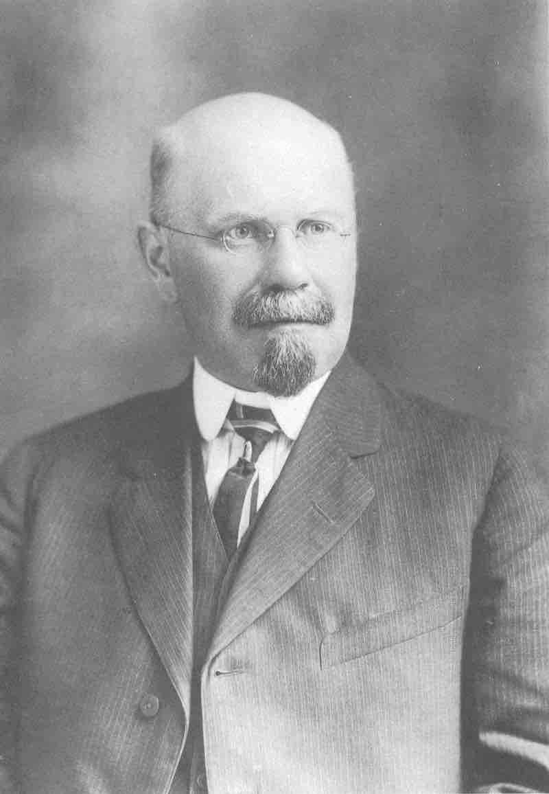 John W. Harshberger (1869-1929) (da Schultes & Reis, 1995, p. 2)